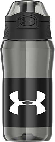 Under Armour Unrivaled 18 Ounce Water Bottle, Black Graphite