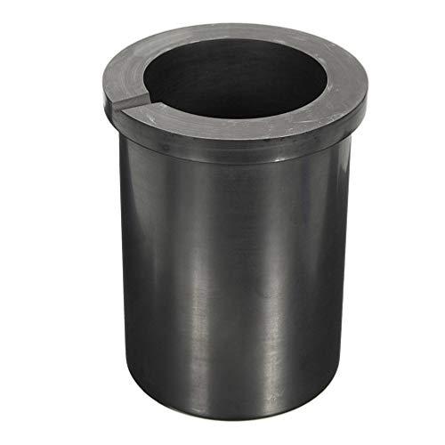 VILLCASE 5 kg de arcilla de grafito, recipiente para fundir el horno, antorcha fundida, refinar oro, plata, cobre, latón, platino y otros metales preciosos.