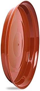 Antier Plastic Planter Tray, Brown, 11 in, 6 Pieces