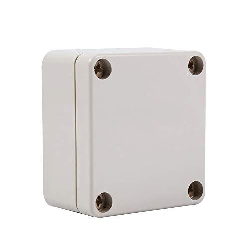 Anschlussdose, IP65 Wasserdicht Abzweigkasten DIY Verbindungsdose ABS Plastik Elektrisches Gehäuse Projekt Fall Kabelabzweigkasten, 2.48 x 2.24 x 1.37 Zoll(2.48 x 2.24 x 1.37 Zoll)