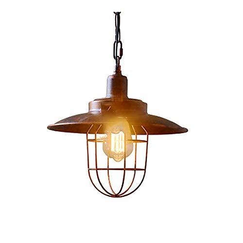Retro Outdoor Hanglamp, Waterdicht Tegen Roest Metaal Licht Hanger Plafond Licht Buiten Binnen Gebruik Van Terras in De Tuin Paviljoen Druivenframe,Metallic