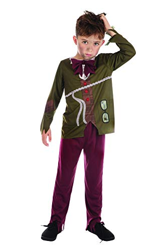Bristol Novelty- Stinky Boy (S) Disfraz de nio apestoso, Color edad: 4 a 6 aos, 4-6 (CF211)