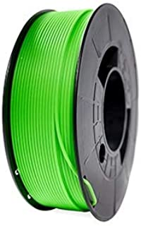 Filament 3Dworld Pla Premium 1,75 mm + 0,1 % couleur vert fluo 1 000 g
