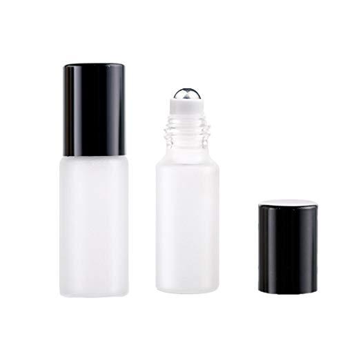 Essentiële Olie Roller Flessen Parfum Atomisers Hervulbare Voor Reizen En Thuis Etherische Olie Flessen Parfum Aromatherapie Roll Op Flessen black