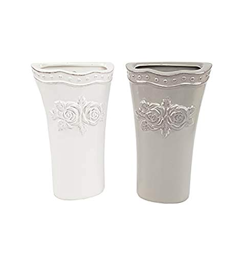 Kasahome 2 Umidificatori Evaporatori per Acqua Gancio Ambiente Ceramica Umidificatore Evaporatore Aria Termosifoni con Rosa