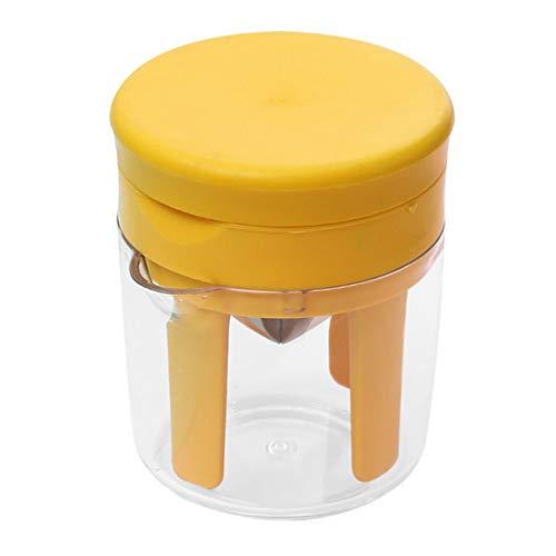 GYMAA 2 In 1 Handbuch Entsafter Slicer Orange Zitronensaftpresse Mini Home Entsafter Slicer Küchenwerkzeug