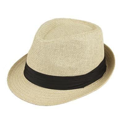 GPQHSM Gorra Playa Pata Sol Sombreros con Estilo Mujeres Hombres Panama Jazz Sombreros Vaquero gángster Gorra con Cinturones de Ventas de cinturón Negro Sombreros y Gorras (Color : 9, Size : 55-58cm)