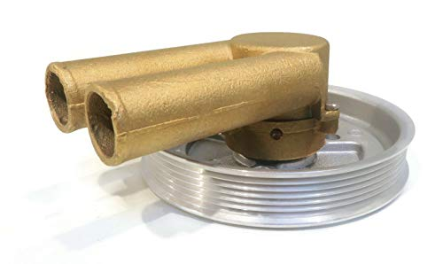 The ROP Shop | Raw Sea Water Pump for Volvo Penta 3.0GSPBYCCE, 3.0GSPEFS Serpentine Pulley