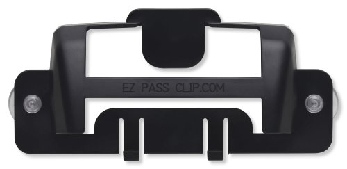 eZpassClip New EZ Pass Holder for New, Small Toll Tag Transponder...