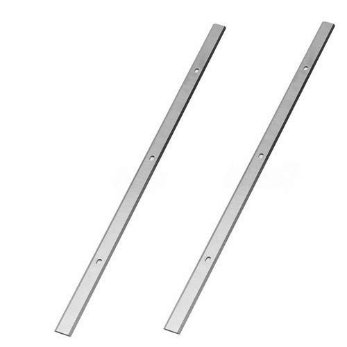 Planers Blades 13-Inch Replacement 22-549 For Delta 22-555, 22-580, Ryobi AP1300, Metabo DH330, Portable Planers - Set Of 2