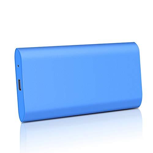 External Hard Drive Portable HDD, Ultra Slim Hard Drive USB 3.1 Gen 1 Type-C Portable Hard Drive External Storage for PC, Laptop, Xbox one, Mac
