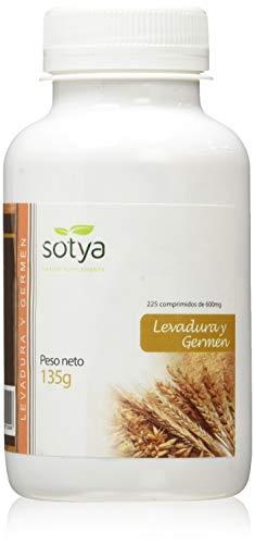 SOTYA - SOTYA Levadura de Cerveza y Germen de Trigo 225 comprimidos 600mg, 135g