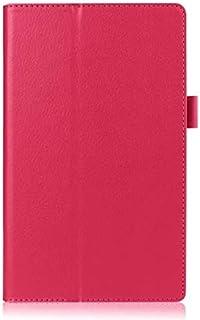 سايز OO - حافظة الكتب والكتب الإلكترونية - لجهاز ASUS زينباد 8.0 PU Leather Stand Smart Wake Sleep Case Cover for ASUS Zen...