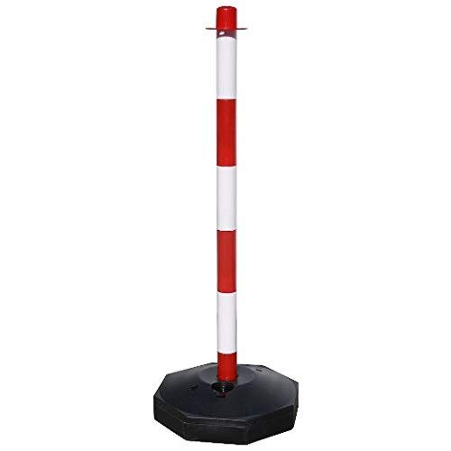 WOLFPACK LINEA PROFESIONAL Poste Para Cadena Plastico 90 cm. Con Base