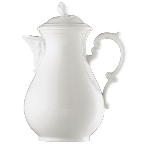 Hutschenreuther 02013-800001-14030 Maria Theresia Kaffeekanne 6 Personen 1,40 Liter, weiß