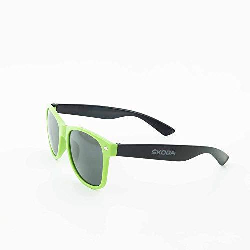 Skoda MVF19-911 Sonnenbrille getönt grün schwarz Brille Accessoires Lifestyle