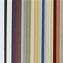 BDMatBoard Full Sheet Mat Board Variety Pack 25 Assorted Colors 32 x 40 Cream Core