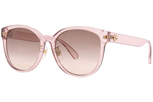 Gucci Occhiali da sole GG0854SK 005 occhiali Donna colore Rosa lente marrone taglia 56 mm