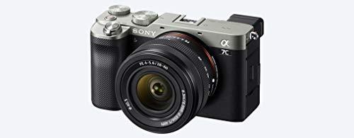 Sony Alpha 7 C - Fotocamera Digitale Mirrorless Full-frame, compatta e leggera, a obiettivi intercambiabili + SEL2860 Obiettivo con Zoom 28-60mm F4-5.6 (Argento)