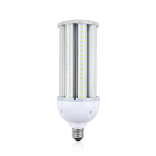 Bonlux 50W E27 maïs LED Blanc Froid 6000K IP65 étanche 5400lm équivaut à 500W ampoule halogène projecteur pour éclairage garage, entrepôt, jardin, cour, rue, restaurant, hôtel, etc(1pcs,Non-Dimmable)