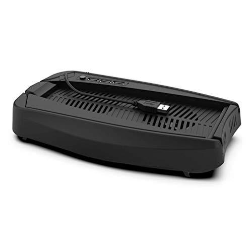 YsaAsaa Soporte de enfriamiento estación de Ventilador de enfriamiento Base de Ventilador de enfriamiento Universal Host, Base de Soporte de Ventilador de enfriamiento con concentrador USB