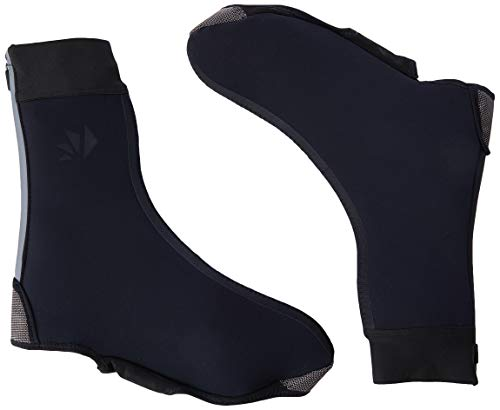 SIX2 Black - Cubrezapatos Impermeable térmico S/M, Unisex para Adulto