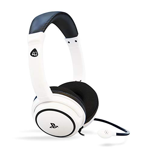 4Gamers PS4 Stereo Gaming Headset 40 - white