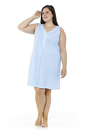 Mabel Intima Camicie da Notte Taglie Forti Camicie da Notte a Maniche Corte o Senza Spalline Camicie da Notte Fino alla Taglia 70