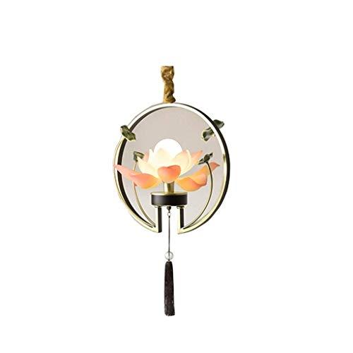 UNU_YAN Lotus lámpara Colgante lámpara de Techo de la Cortina Colgante Lampshade Enciende la lámpara Moderna, Simple de la Personalidad Creativa de iluminación Iluminación en la alcoba Iluminación