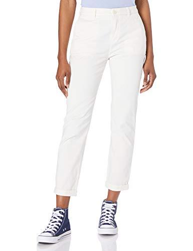 BOSS Womens C_Tachini-D 10232926 01 Pants, Open White118, 36
