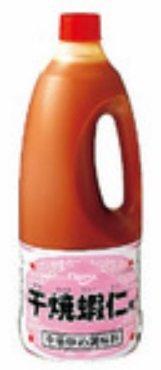 【中華風調味料】 中華炒め調味料 干焼蝦仁用(カンシャオシャーレン) 1490g×6本