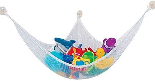 Hamaca de juguete Hoom, red de almacenamiento de esquina para animales de peluche, hamaca de almacenamiento de juguetes para niños para peluches de peluche (150 x 100 x 100 cm)