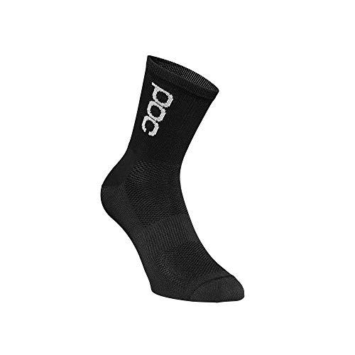 POC Herren Essential Road Lt Socks, Uranium Black, MED
