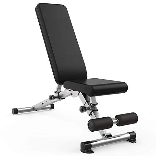 BATOWE Hantelbank Fitness Chair Startseite Multi-Funktions-Sit-up Brettbauchmuskeln Fitness Equipment Faltbare Bench Press Faltbare Professionelle Bench Hocker (Size : 132x46x113cm)