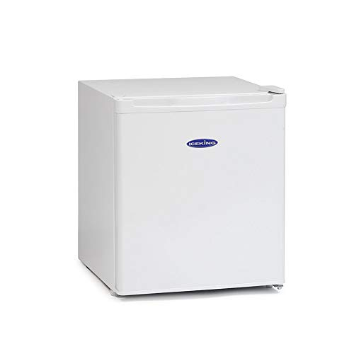 IceKing TT46AP2 Table Top Mini Fridge with Ice Box Freezer - White