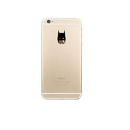 Shot Case Coque Silicone iPhone 6/6S Plus (+) Batman Fun Apple Bruce Wayne Tete Pomme Transparente Protection Gel Souple