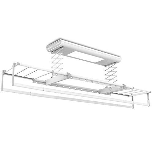 Secadora de techo | Estante de secado de ropa retráctil eléctrico de...