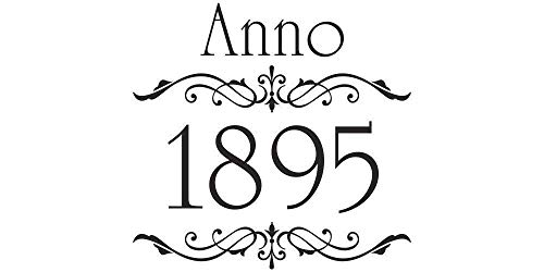 Möbeltattoo Anno 1895 & Ornament Shabby Chic Style