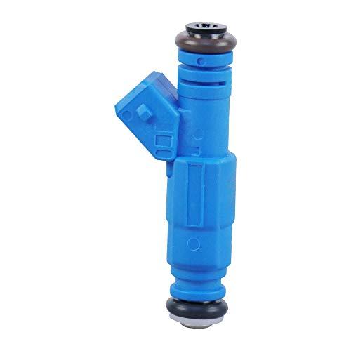POLEMOTOR Fuel Injectors 36lb 0280155811 Compatible for BMW E30 S14 M10 380cc (Set of 4)