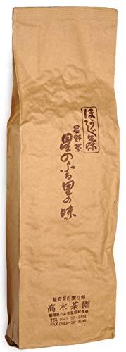 Hoshino-Cha | Connoisseur Hojicha Roasted Green Tea 200g | 1st Flush | Single Origin | Yame, Japan | Farmer-Packaged | Award-Winning | Organically Grown
