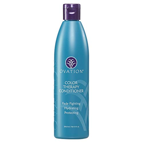 Ovation Color Therapy Conditioner - Salon Quality, Sulfate Free Conditioner with Natural Ingredients and Proteins including Quinoa for Maximum Moisture and Color Protection - Made in the USA
