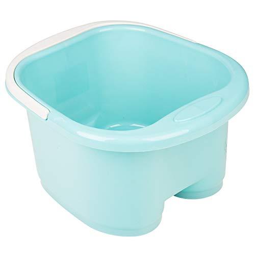 Activeshop Lich - Bañera portátil para pies con rodillos para masaje de pies, color verde