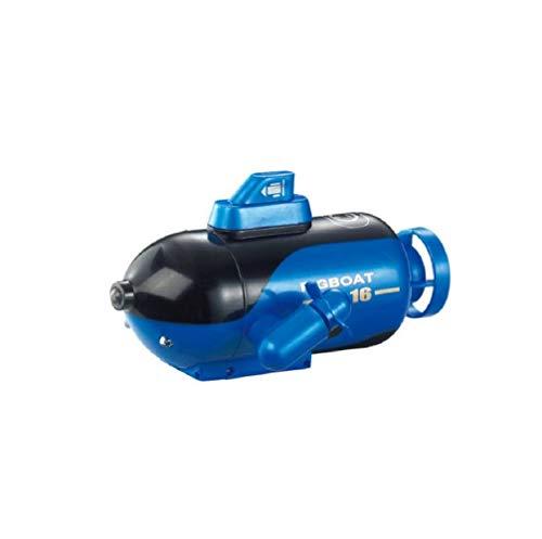 Mini Drone Submarino, Mini RC Submarino HD Drone Cámara Submarina con FPV (Azul)
