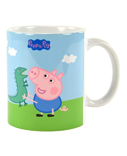 for-collectors-only Peppa Pig Tasse George & Freunde Kaffeetasse Peppa Wutz Kinder Becher Trinkbecher Mug
