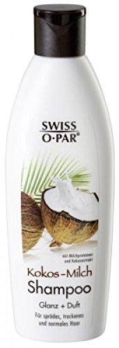 Swiss-o-Par - 4 x Kokos-Milch Shampoo, á 250 ml (1 Liter)