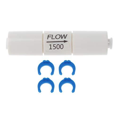 Analysisty Filtro de agua con filtro de agua, limitador de ósmosis, inserto de tubo capilar para el sistema de RO