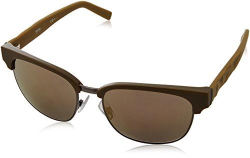 BOSS Orange BO 0234/S HJ LE9 Gafas de sol, Verde (Mtmilitgreen/Gun Metal Fl), 54 para Hombre