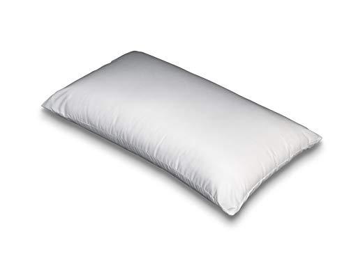 Flex Almohada antiácaros, Polyester, Blanco, 40 x 75 cm