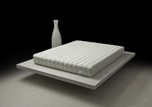 Pure & Natural Materasso Serenity 80x 200cm in 100% Lattice/Struttura Traspirante monoblocco Tecnologia Dunlop 7Zone