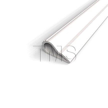 TMS Door-Seal Self Adhesive Weatherstrip Teardrop Seals Sound Light and Draft /.5